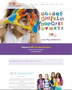 ABC-Time-Preschool- Web One Design