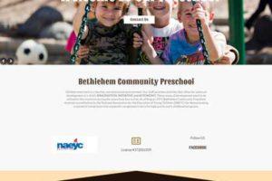 Bethlehem Community Preschool- webonedesign.com