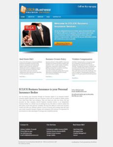 Eclick-Business-Insurance - Web One Design